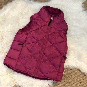 Girls REI Goosedown vest xxs 4/5